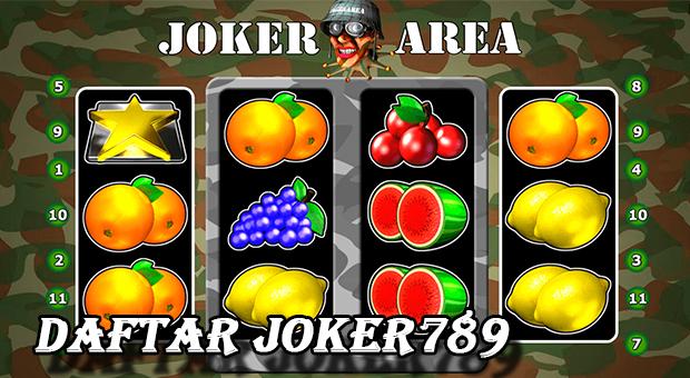 Daftar joker789