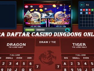 Cara daftar casino dingdong online