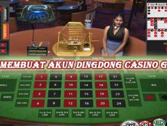 Cara membuat akun dingdong casino gratis